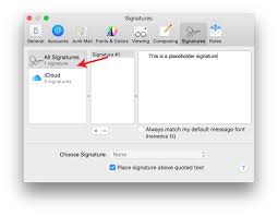 how to make an html signature in apple mail for el capitan os x 10 11