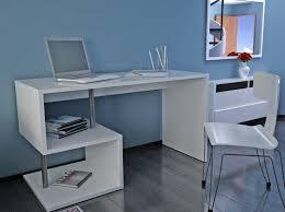 bureau blanc laqué brillant inside75 produits de la categorie bureaux droit en melamine