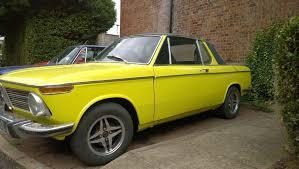 bmw 2002 baur cabriolet baurspotting 1973 bmw 2002 yellow cabrio targa by baur