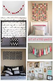 Interior Decoration With Waste Material by Bedroom Wall Decor Diy Canvas Ideas Bedroom Wall Decor