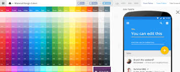 minimalist color palette 2016 10 material design color palette generators