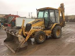 2000 cat 426c sale in michigan 471737