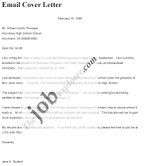 cover letter cover letter for emailing resume cover letter for