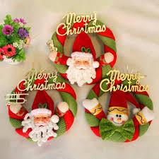 aliexpress com buy 1pc cute christmas wreath decoration hotel