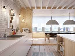 cuisines blanches et bois cuisine blanche et bois clair le bois chez vous