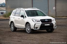 green subaru forester 2016 2016 subaru forester ts sti review video performancedrive