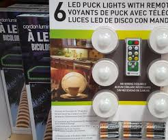 Installing Under Cabinet Puck Lighting by Puck Light Conversion No More Eating Batteries 3 Steps