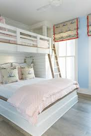 girls house bunk bed great way to get two beds in one space my home redo pinterest