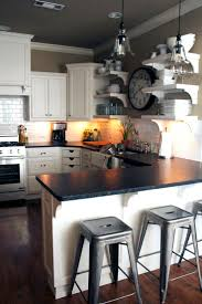 Painted Kitchen Ideas by Best 20 Dark Countertops Ideas On Pinterest Beautiful Kitchen