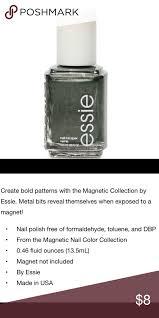 essie metallic nail polish color crocadilly new nwt metallic