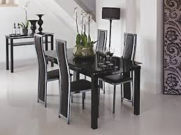 black dining table chairs dining room furniture half price sale harveys furniture