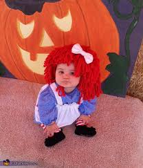 Raggedy Ann Costume Diy Raggedy Ann Baby Costume Photo 3 3