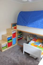 Building A Loft Bed With Storage by Toddler Bunk Beds That Turn The Bedroom Into A Playground