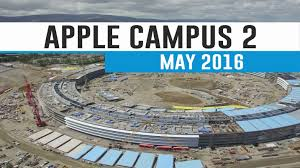 apple campus 2 may 2016 construction update 4k youtube