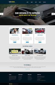 free website templates dreamweaver 20 best driving school website templates free premium templates free demo download