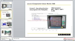 auto repair manuals liebherr machine u0026 crane full shop manual dvd