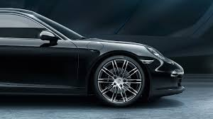 porsche 911 black edition here s your gallery of porsche s 911 and boxster black editions