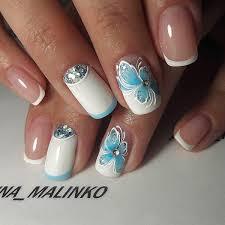 60 white nail art designs butterfly nail art white nail art and