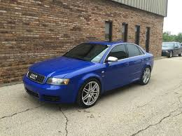 2004 audi s4 blue 2004 audi s4 awd quattro 4dr sedan in east dundee il all