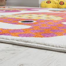 teppich kinderzimmer kinder teppich bunte elefanten familie kinder teppiche