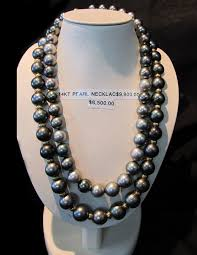 black jewelry necklace images Black pearl necklaces and pendants jpg