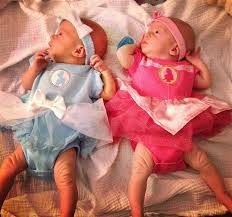 Halloween Costumes Twin Girls Double Fun Multiples Dressed