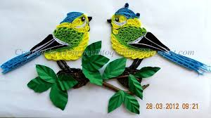 paper quilling birds tutorial a journey into quilling paper crafting quilled picture landscape
