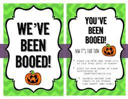 we u0027ve been booed free printable paper trail design