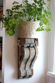Corbels For Shelves 30 Cheap And Creative Diy Home Decor Projects Using Corbels Hative