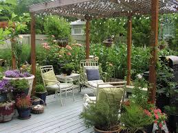 deck to garden pinecone deck design and ideas