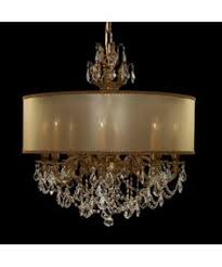 Drum Chandelier Lighting Tutorial On How To Make A Drum Shade Chandelier Based On