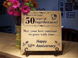 50th anniversary gift for parents wedding gift parents 50th wedding anniversary gifts theme