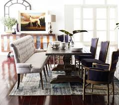 dining room awesome upholstered bench blacke with back renate