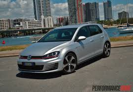 volkswagen golf gti 2015 2014 volkswagen golf gti mk7 review video performancedrive