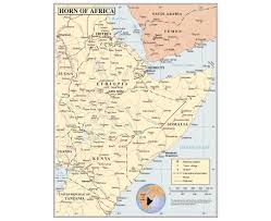 Map Of Africa Political by Maps Of Horn Of Africa Horn Of Africa Maps Collection Of