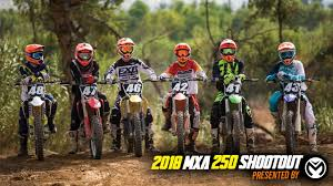 motocross action 450 shootout 2018 mxa 250 shootout what works for you motocross action magazine