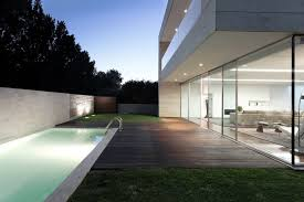 open house design ideas glass and concrete home design at open block house images and