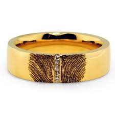 fingerprint wedding bands fingerprint rings brilliant earth