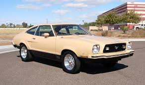 ford mustang mach 2 for sale yellow gold 1977 mach 1 ford mustang ii hatchback