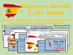 spanish lesson and resources ks2 all about me revision by