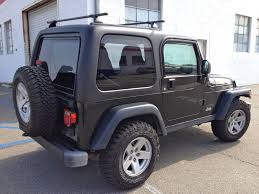 jeep wrangler dark grey jeep wrangler hardtop from rally tops custom fiberglass