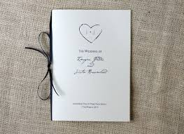 how to make your own wedding programs wedding program kits with ribbon wedding ceremony programs