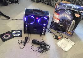 karaoke machine with disco lights karaoke machine with disco lights in smiths wood west midlands