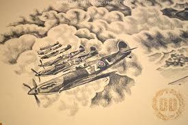 war 2 design including after ink photos