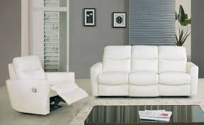 inspiration idea white leather recliner sofa and modern recliner