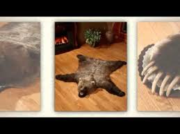 How Much Does A Bear Rug Cost Bear Skin Rugs From Bear Skin World Youtube