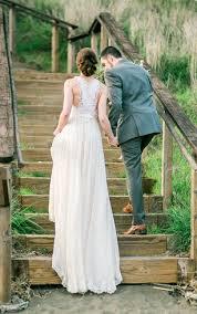 chiffon wedding dresses flowy bridal gowns dressafford