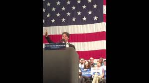 Raleigh Flag Opening Speaker At The Bernie Sanders Rally In Raleigh Nc On March