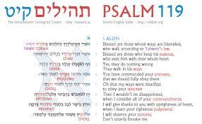 basicsofthebible org psalm 119