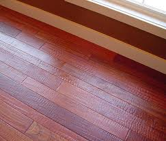 cherry scraped hardwood flooring photo